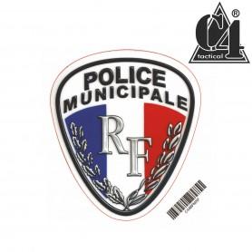 Autocollant  8cm - POLICE MUNICIPALE