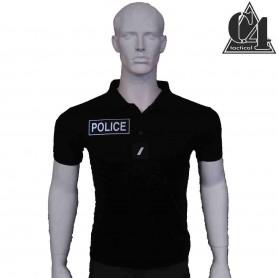 Polo Piqué POLICE, 5 velcros - 200g